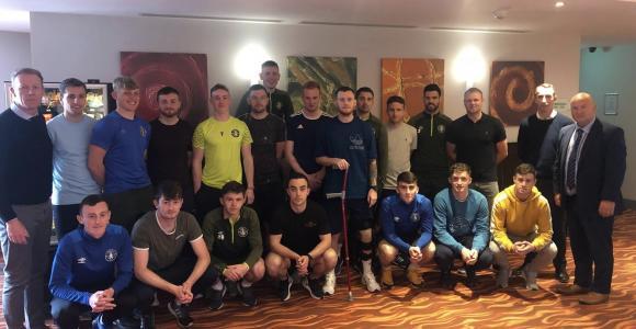 Pic of Limerick FC squad