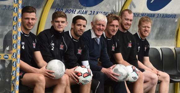 Dundalk players promote ETB course