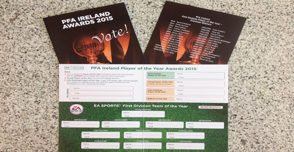 LOI 1st Division voting form season 2015